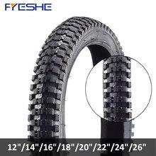 Pneus de bicicleta anti punctura todas as séries mtb pneu de bicicleta bmx 26/24/22/20/18/16/14x1.75/1.95/2.4 polegadas ciclismo pneus de bicicleta pneumu