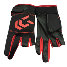 Fishing-Gloves Anti-Slip Half-Finger Outdoor SBR Cut Men 1-Pair Women
