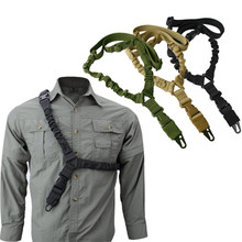 Tactical Rifle Sling Glock 19 17 M4 Ak 47 Hunting Caza Chasse Armas De Fuego Real Adjustable Military Strap Army Accessories