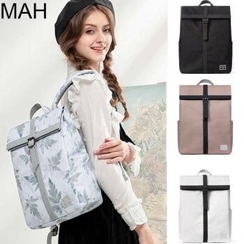 British Style Cross Design 15inch Laptop Anti-theft Backpack Men Waterproof School Backpack Women Bagback Boy College Bag Girl