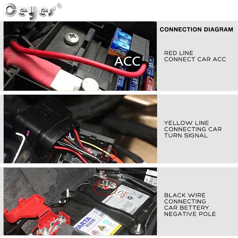 H5a079f773eb241519c42a2ee344676a9R Ceyes 2pcs Led DRL Daytime Running Lights Turn Signal DRL Led Strip Car Light Accessories Brake Side Lights Headlights For Auto