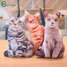 1pc 50cm Simulation Plüsch Katze Schlafen Kissen Weiche Kuscheltiere Kissen Sofa Decor Cartoon Plüsch Spielzeug für Kinder kinder Geschenk