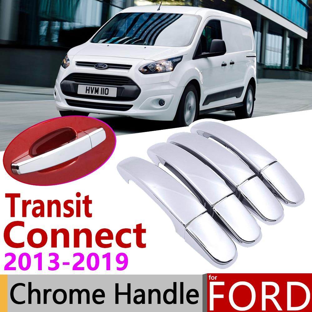 Ford Transit Manija De Puerta Tapa Cromado X4