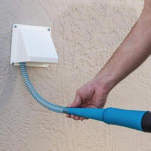 1pc secador lint mangueiras de vácuo 1 m remoção poeira extensão para aspirador de pó escritório robô tubo aspirador b2r5|Escovas de limpeza|   -