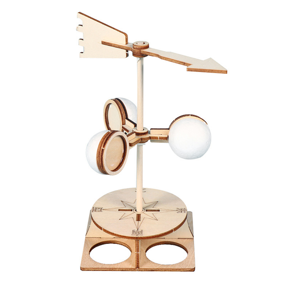 Kids Student Wind Vane Model Kit DIY Direction Experiment Educational Toys