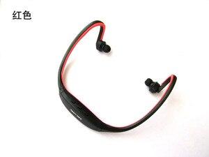 Image 5 - Fones de ouvido sem fio esportivos, headset com cartão tf e reprodutor de música mp3, rádio fm, envio direto