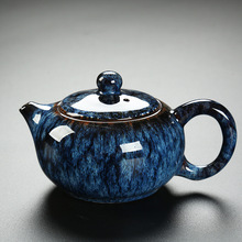 Traditional Chinese Porcelain Tea Pot Ancient China Ceramic Teapot Kongfu Tea Set Retro Water Kettle Teaware Chinese Gifts