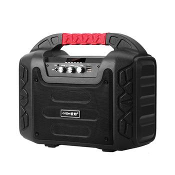 12W Outdoor Speaker Wireless Bluetooth Bass Dance Sales Party Picnic Music Player FM TF Loudspeaker Mic Portable Subwoofer фото