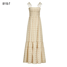 Summer Dress Loose Longo Real Time-limited 2019 Europe And The Printed Pregnant Women Holiday Sling Straps Long Bohemian