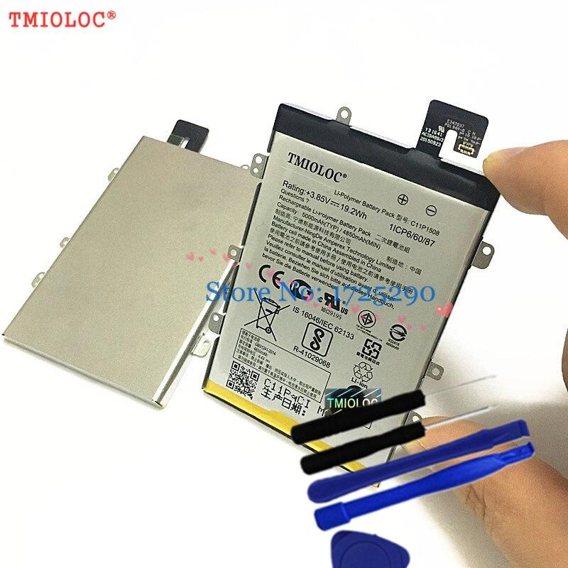 Оригинальный аккумулятор TMIOLOC c11p1508, 5000 мАч, для ASUS Zenfone Max ZC550KL Z010AD Z010DD Z010D Z010DA