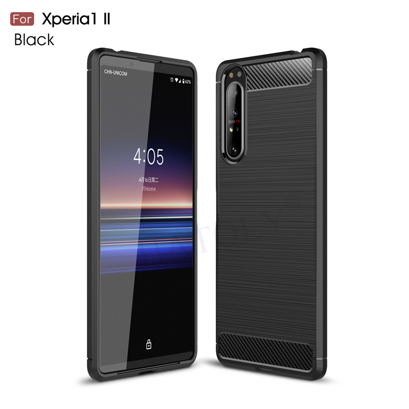 Lomogo Sony Xperia 1 Case LOYHU231079#11 Soft Silicone Case Shockproof Anti-Scratch Case Cover for Sony Xperia1