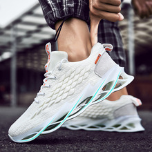 spring and summer new low top color matching tide shoes wild sports shoes running shoes Men's shoes 2020 new wild trend leisure sports running shoes autumn breathable shoes men's tide shoes