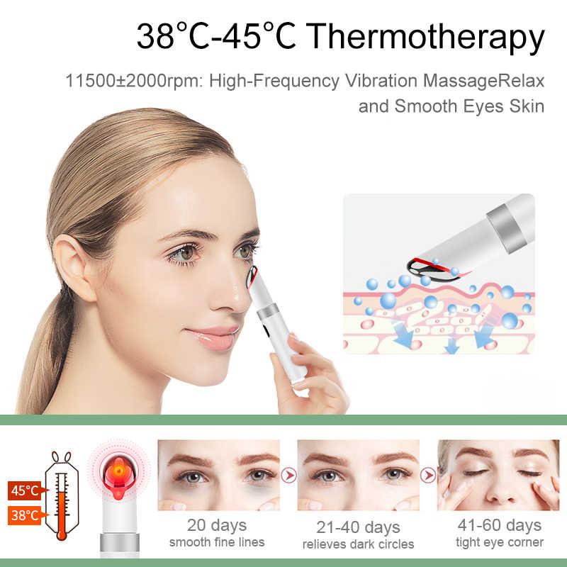 ANLAN Elektrische Auge Gesicht Massager Vibration Anti-Alterung Auge Falten Massage Dark Kreis Entfernung Tragbare Schönheit Pflege Stift Massage