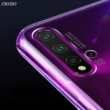 IMIDO Case for Huawei Nova 5 Pro 5i TPU Soft Silicone Cases Protective Cover HD Transparent