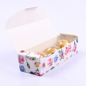 Image 5 - LBSISI Life 5pcs Candy Cookie Biscuit Nougat Paper Boxes Thank You Merry Christmas Hand Made Gift Box