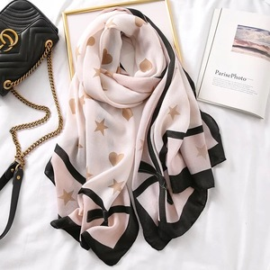 Image 5 - Luxury brand scarf leopard women Soft Pashminas shawl cotton silk scarves Sjaal muslim hijab,animal print leopardo stole bandana