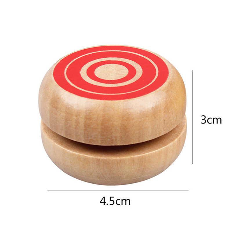 Yo Yo Balls Vendita Calda 1Pcs Giocattoli Giocattolo Di Legno Materiale Cinese In Legno Yo-Yo Yo-Yo Del Giocattolo Regali per I Bambini professionale Per Bambini a forma di Tamburo Yo-Yo