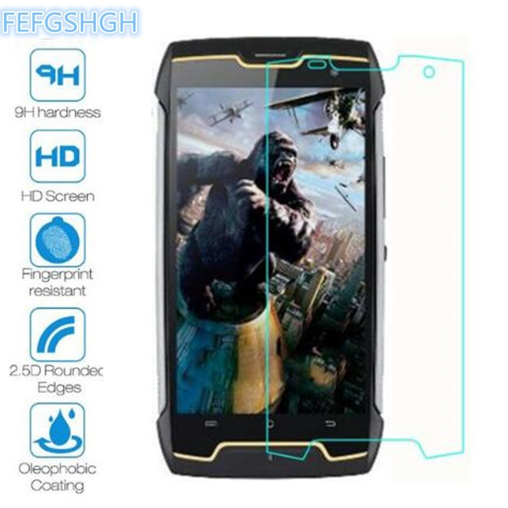 2PCS Tempered Glass For Cubot King Kong Explosion Proof Screen Protector For Cubot King Kong Protective Film Glass