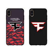 FaZe Clan soft case for iphone 11 pro x xs max xr 8 7 6 6s plus matte silicone phone cover Game team sports coque fundas 11 pro game clan faze customer high quality phone case for iphone 6 6s plus 7 8 plus x xs xr xs max 11 11 pro 11 pro max cover
