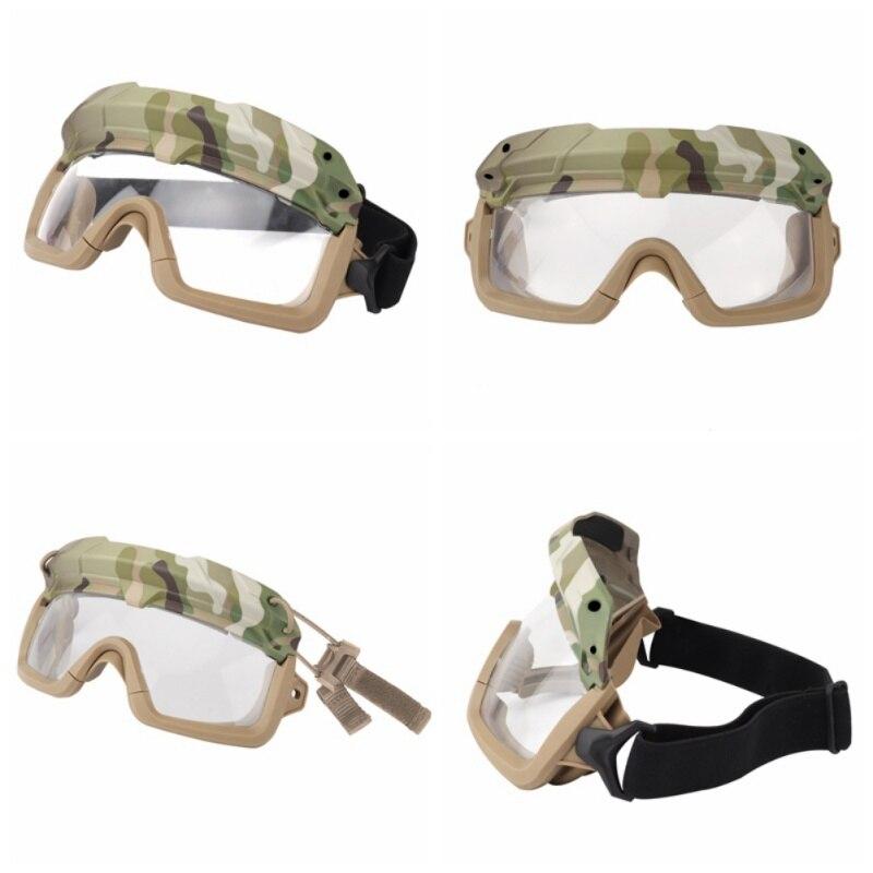 Ветрозащитные тактические очки для страйкбола, охотничьи очки, очки для стрельбы, мотоциклетные очки Wargame, очки для верховой езды, очки для пейнтбола, защита глаз