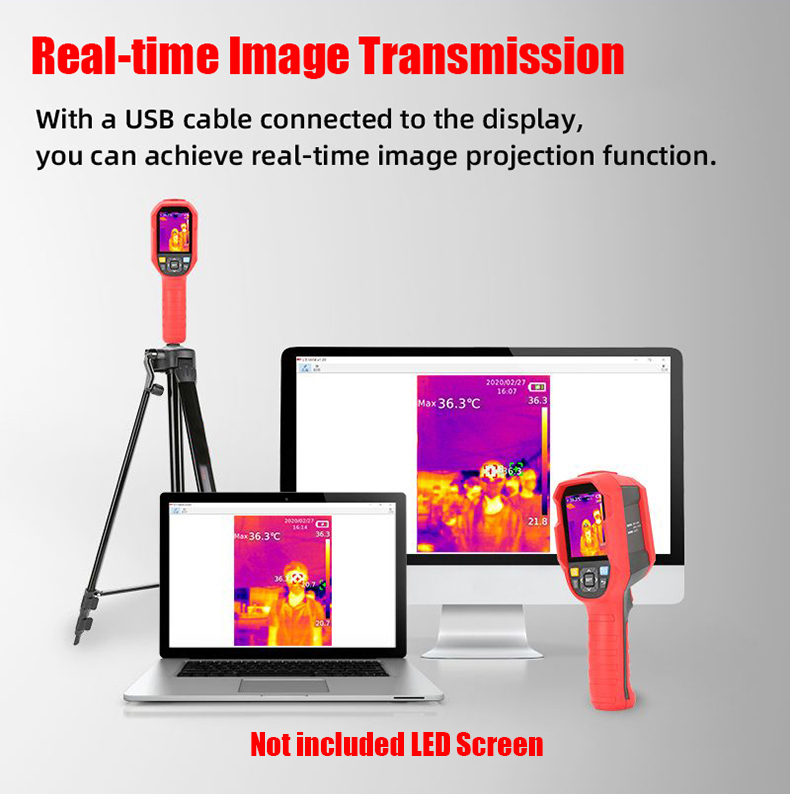 A-BF Infrared Thermal Imager with Real-Time Image Transmission and High-Temperature Alarm Prompt 2