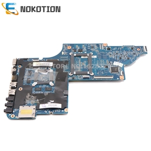 Image 2 - NOKOTION laptop motherboard for HP DV6 DV6 6000 series 640454 001 Socket s1 free cpu 1gb graphics full test