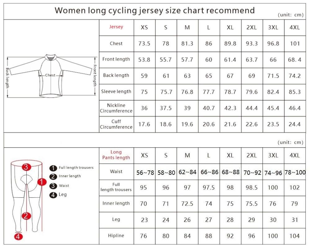 Women Cycling set Long
