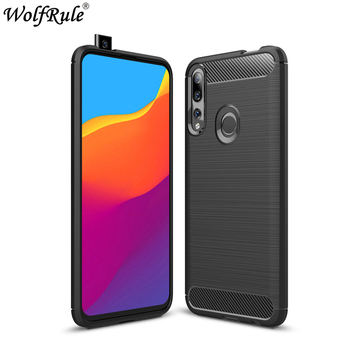 Case For Huawei Honor 9X Case Shockproof Bumper Carbon Fiber Cover For Huawei Honor 9X Cover Fundas For Huawei Honor 9X STK-LX1 ntspace 6500mah for huawei honor 9x pro battery charger cases backup power bank shockproof cover for huawei honor 9x power case