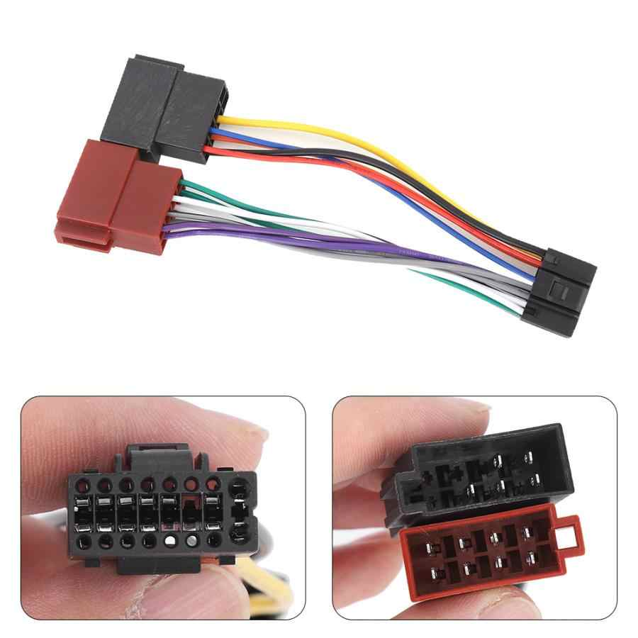 [EQHS_1162]  16 Pin ISO Bus Female Wiring Harness Connector Adapter Fits for Kenwood  JVC| | - AliExpress | Kenwood Wire Harness |  | www.aliexpress.com