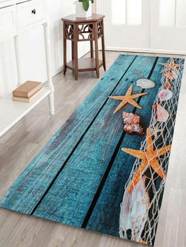 1 PCS Fashion Brand New Hot Sales Kitchen Bath Bathroom Shower Floor Door Mat Rug Anti-Slip Wood Strip Vintage