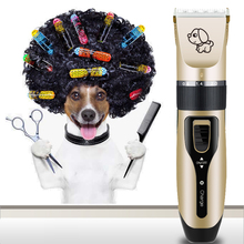 Rechargeable Low-noise Cat Dog Hair Trimmer Electrical Pet Hair Clipper Remover Cutter Grooming Pets Haircut Machine стоимость