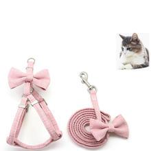 Товары для домашних животных поводок кошек комплект из шлейки