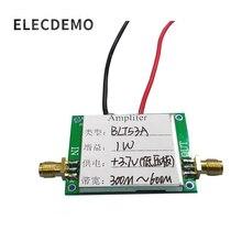 Versão 433 v da baixa tensão do amplificador de potência 3.7 m do rf do módulo blt53a com si4463, placa de demonstração da função do ganho alto da banda larga si4432