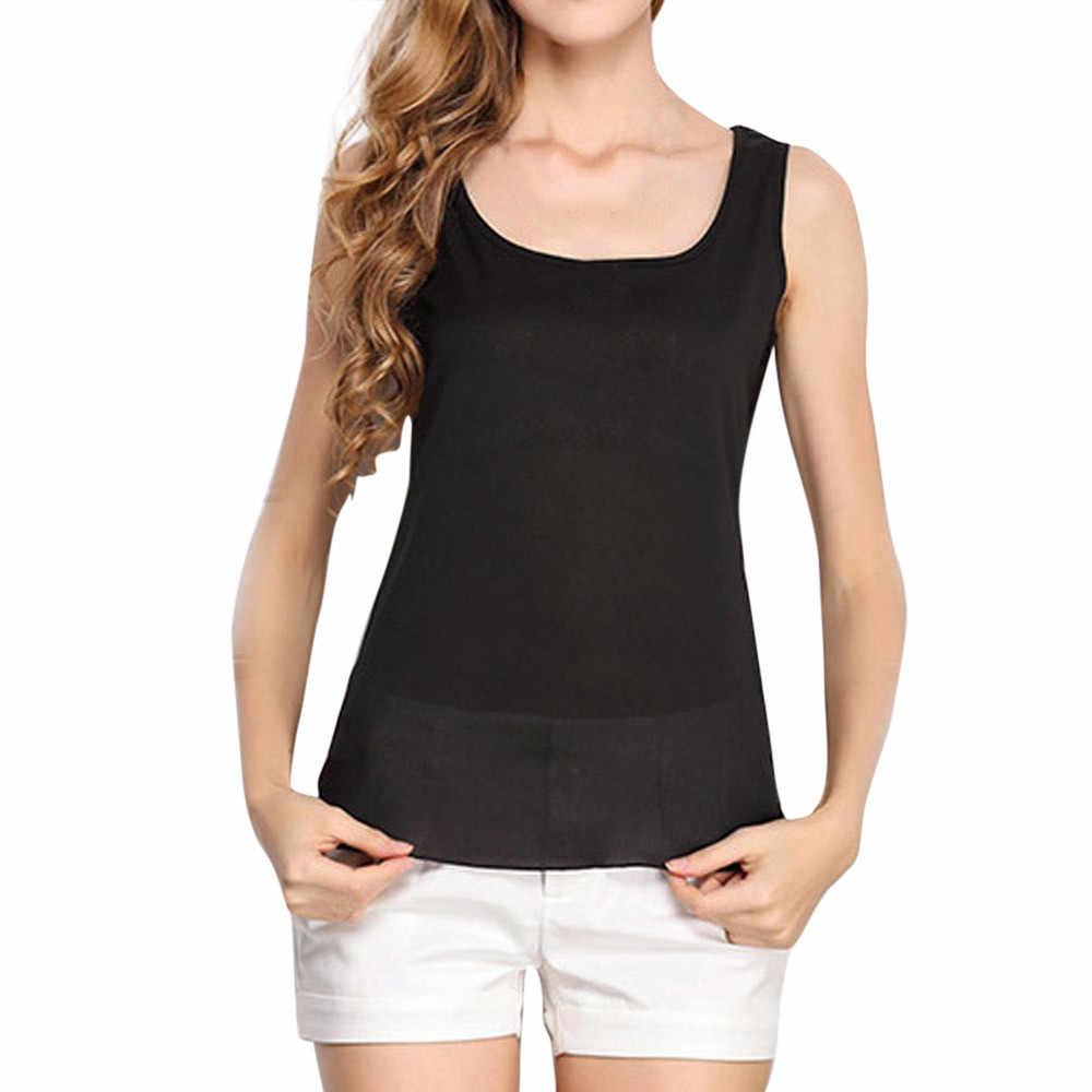 15 # # נשים O-צוואר חולצת טי שרוולים טהור צבע שיפון חולצות חולצה בתוספת גודל T חולצה גותי בגדי camisetas verano mujer 2019