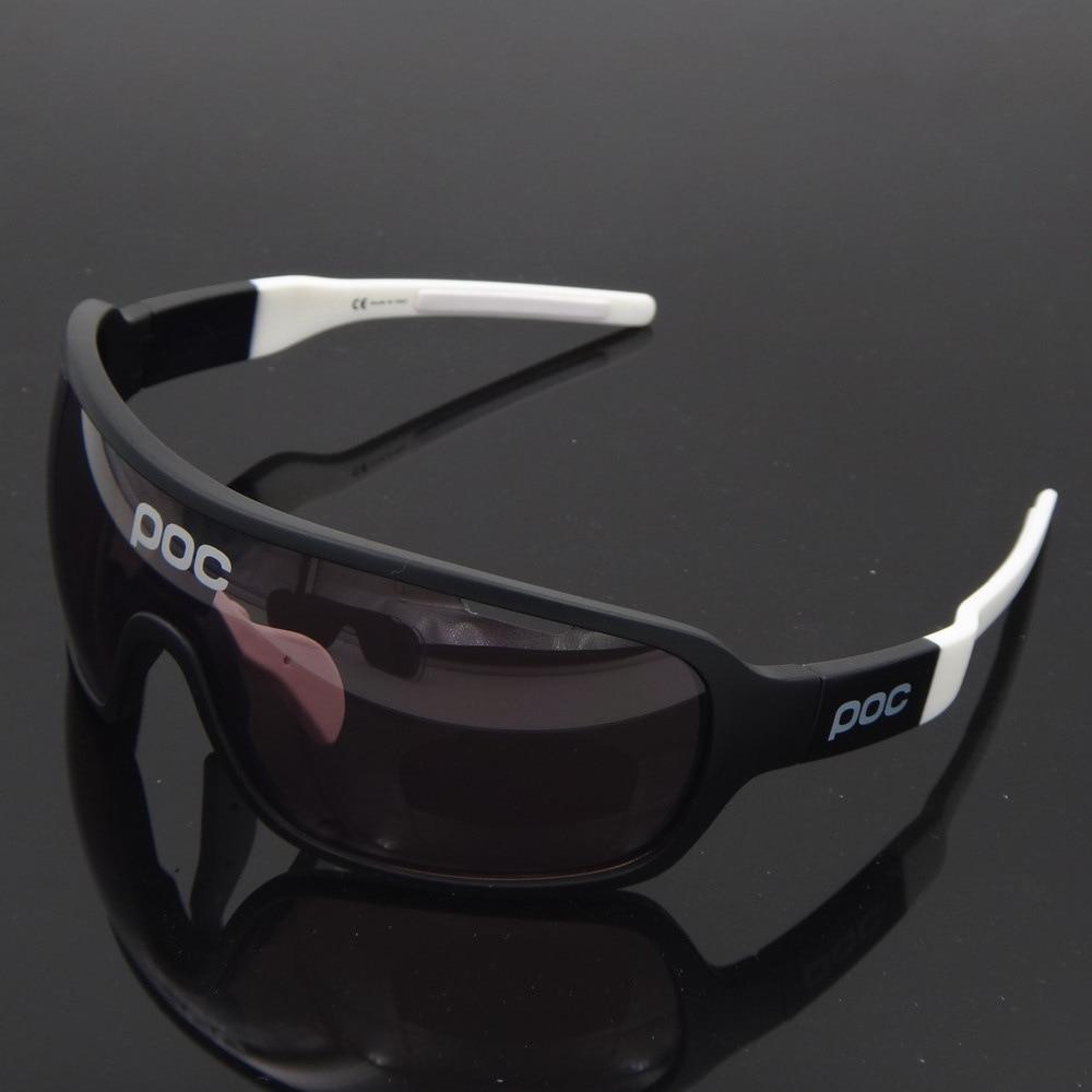POC-gafas de sol polarizadas para ciclismo para hombre y mujer, lentes protectoras para bicicleta de montaña y carretera