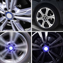 4pcs/set wheel hub cap floating center caps Lights illumination hub cap Lights Center Cover Light For BMW for Benz for Audi стоимость