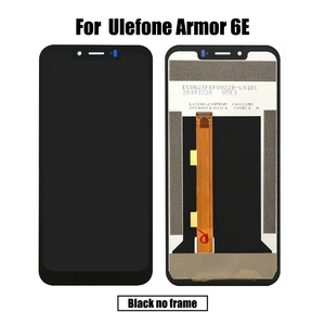 Image 3 - BingYeNing For Ulefone Armor 6 6E LCD&Touch screen Digitizer with frame display Screen phone accessories assembly replacement