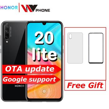 Honor 20 Lite Smart phone 6.3 inch 2400*1080 Octa Core Mobile Phone 48MP 3 Cameras Fast charge Fingerprint cellphone