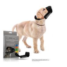 Máscara respirável do cão da malha, capa da boca do animal de estimação, anti-mordida, latindo e lambendo a máscara ajustável do cão do náilon