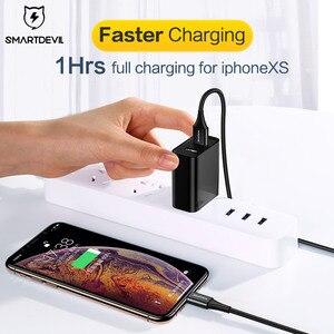 Image 2 - SmartDevil MFi USB כבל עבור iPhone 12 פרו Xs מקסימום 7 8 בתוספת מהיר טעינה עבור Appl ברקים כבל נתונים כבל טלפון מטען