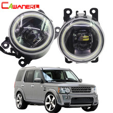 Cawanerl Voor Land Rover Discovery 4 LR4 Suv (La) gesloten Apv 2010-2013 Auto 4000LM Led Mistlamp Angel Eye Drl 12V(China)