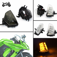 Turn Signal For KAWASAKI Z1000SX Ninja 1000 R 2011   2016 Motorcycle Accessories Front LED Turn Signals Indicator|  -