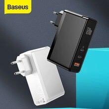 Chargeur Baseus GaN 120W Charge rapide 3.0 4.0 pour MacBook Pro câble de Charge rapide pour Huawei Mate 10 USB C à Type C PD chargeur