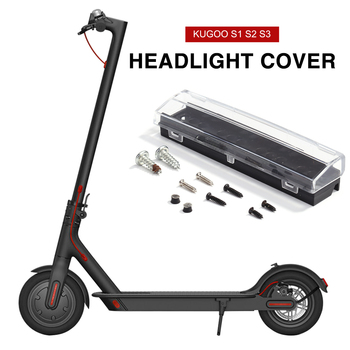 Plastic Headlight Front Light Covers for Electric Scooter KUGOO S1 S2 S3 Plastic electric scooter parts box image