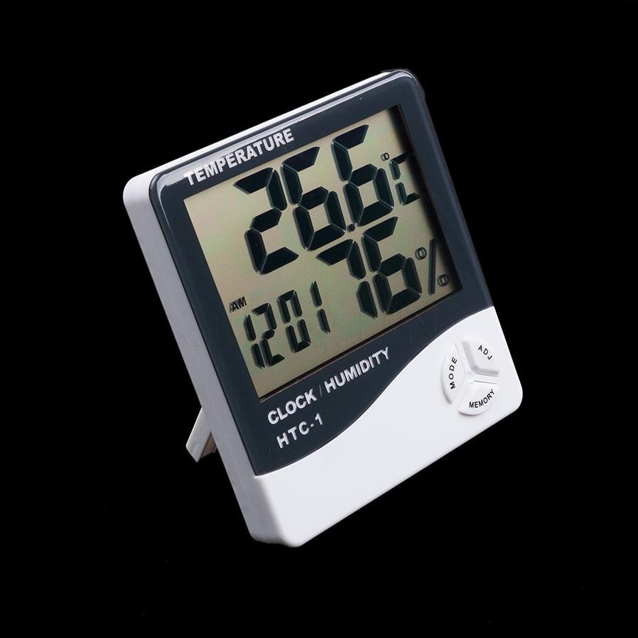 Высокоточный цифровой термометр C/F, гигрометр, измеритель температуры и влажности в помещении, электронный измеритель для дома DC102