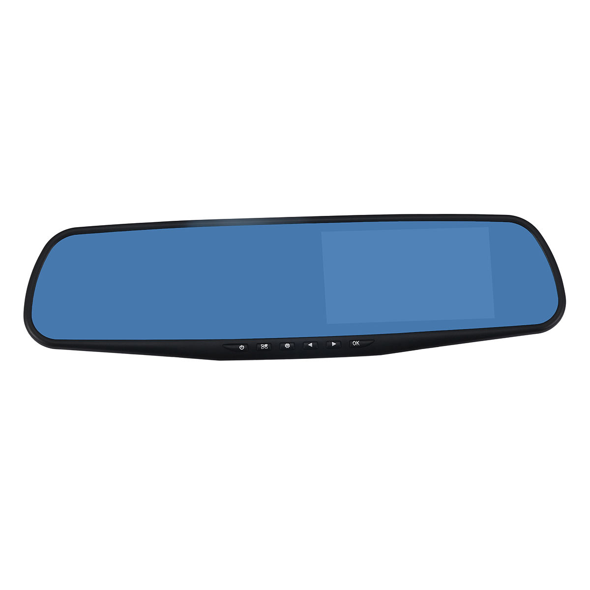 USB 2.0 Car DVR 2.4 Inch Built-in Camera Replacement Night Vision Set Rear View Mirror Parts Accessories