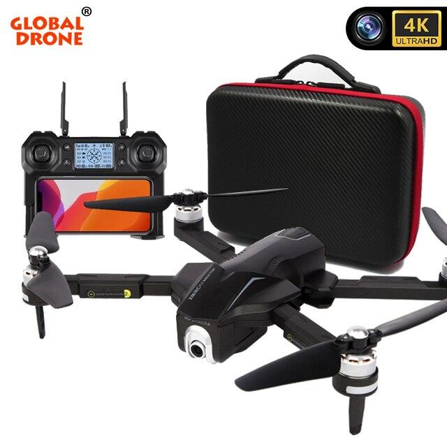 Global Drone 4K Profissional Follow Me RC Dron 5G Wifi FPV Quadrocopter GPS Drones with Camera HD Speaker VS SG906 E520 F11 PRO