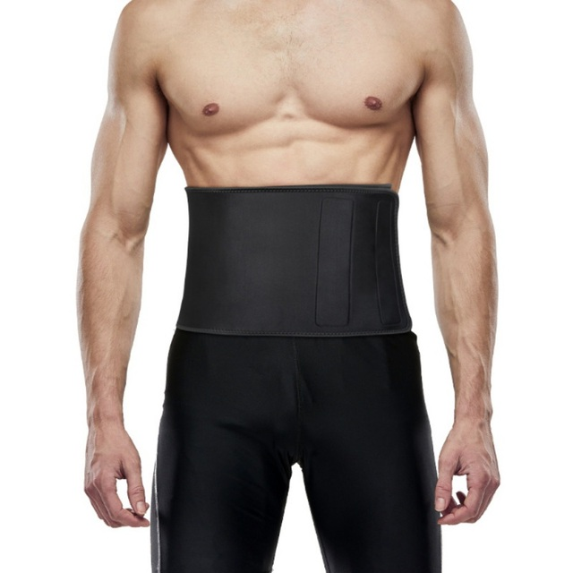 Fitness Waist Trainer Men-Waist Cincher Trimmer-Sweat Crazier Slimming Body Shaper Belt-Sport Girdle Waist Trainer Support 1