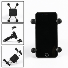 Bicycle Universal Mobile Phone Stand Holder Motorcycle GPS Cell Phone Bracket Mount  JA55 universal motorcycle holder base for gps mobile phone black