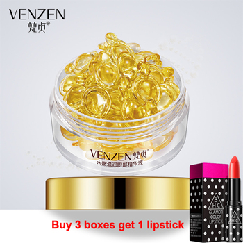 Vitamin E Eye Essence Capsules Anti-Wrinkle Remover Dark Circles Eye Essence Against Puffiness And Bags Eye Care 30Pcs/Bottle efero collagen eye mask gel eye patches face care sheet masks wrinkle eyes bags remover dark circles for face mask eye mask 60pc
